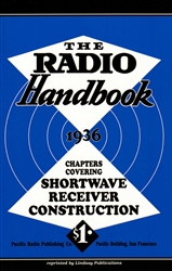 The Radio Handbook 1936 Chapters Covering Shortwave Receiver Construction