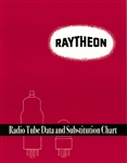 Raytheon Radio Tube Data and Substitution Chart