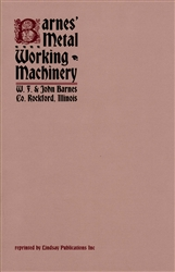 Barnes' Metal Working Machinery
